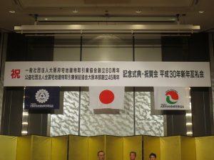 大阪宅建協会新年互礼会