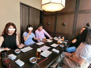盆休み 仲良し家族で 延々飲みました