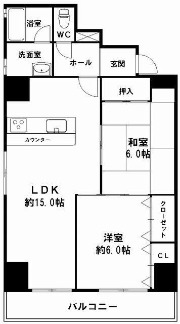 分譲貸 【阿波座ドリームマンション 61.23㎡ 】 の紹介です