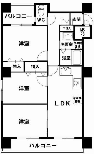 利便性バツグン 新町2丁目 【ライオンズマンション四ツ橋 402号室】 オープンハウス情報