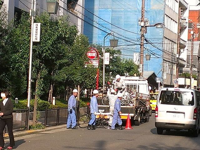 エイトコーポレーション社長のブログ-自転車撤去2
