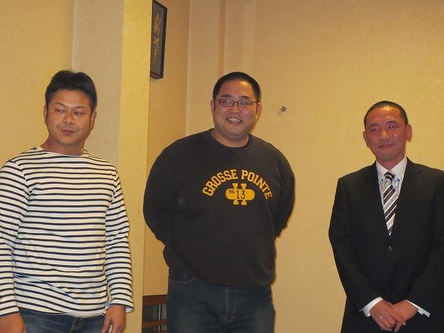 堀江中学校柔道部OB会 に行ってきました