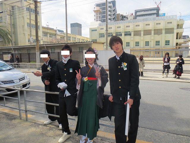 堀江中学校卒業式