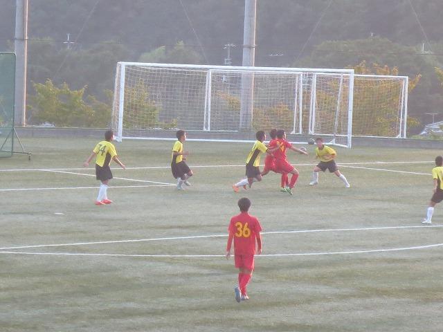唯一のシルバーウイーク 【高校サッカー観戦】
