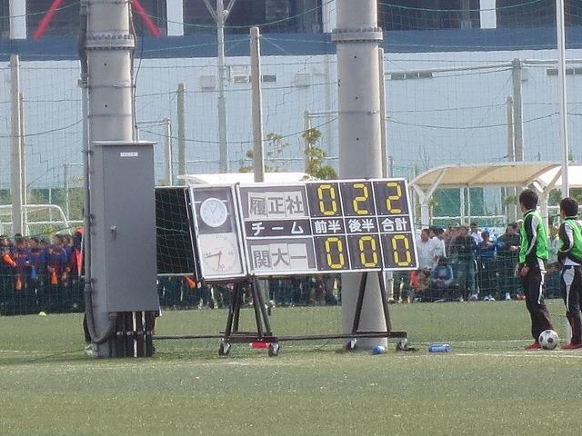 【全国高校サッカー選手権 大阪大会】  6回戦