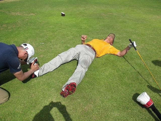 久しぶりのゴルフでした