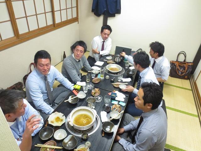 食事会 (意外な組み合わせ)