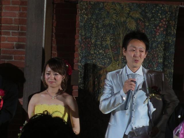 結婚披露宴に行ってきました