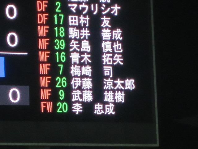 ルヴァンカップ 【セレッソ大阪 vs 浦和レッズ】 サッカー観戦