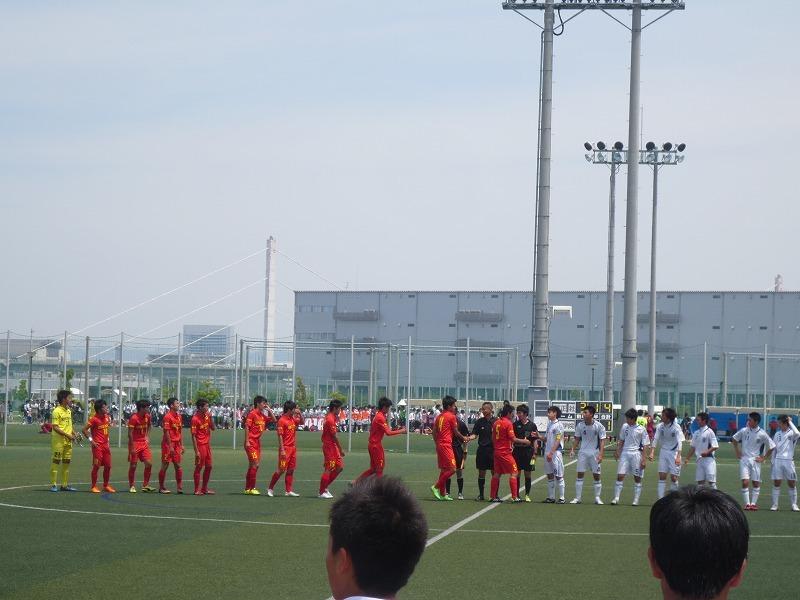 高校サッカー インターハイ予選 6回戦