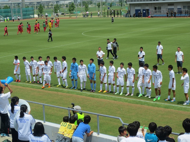 高校サッカー インターハイ予選 決勝リーグ 1